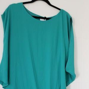 ASOS Maternity turquoise Midi Dress Sz 12 NWT